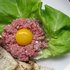 Sunday Brunch: Steak Tartare