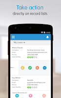 Screenshot of Salesforce1
