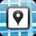 Venue Map for foursquare icon