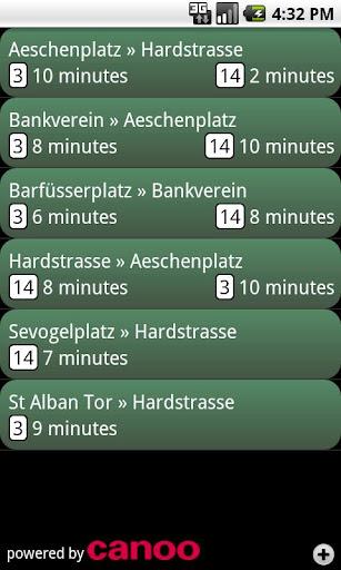 Basel Tram Bus Offline