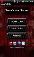Screenshot of ComicTroll Comics Lite