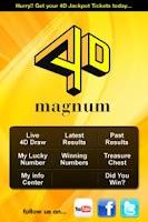 Screenshot of Magnum 4D Old Version