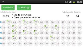 Screenshot of Bingo Show