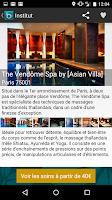 Screenshot of Balinea Massage, Spa et Hammam