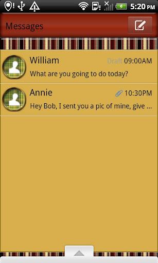 GO SMS THEME Horse Play SMS