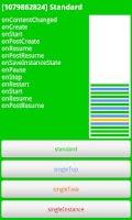 Screenshot of Activities LaunchMode demo
