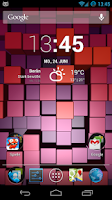 Screenshot of Blox Pro: Live Wallpaper