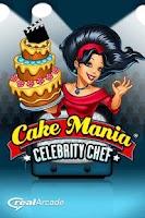Screenshot of Cake Mania Celebrity Chef Lite