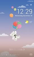 Screenshot of Little Bear's Day Dodol Theme