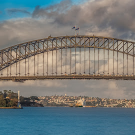 Harbour Bridge, Sydney by Krasimir Lazarov - Buildings & Architecture Bridges & Suspended Structures ( harbour bridge, waterscape, australia, tourism, cityscape, bridge, sydney, travel locations, city )