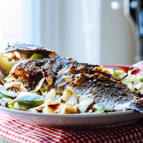 Baked Peppered Whole Fish