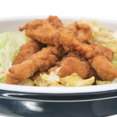 Fried Chicken with Dipping Sauces: Cotolitta di Pollo con Salse