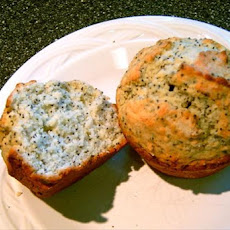 Poppy Seed Muffins With a Hint of Almond