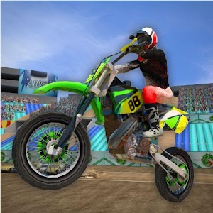 3D Motor Bike Stunt Mania For PC / Windows 7/8/10 / Mac – Free Download