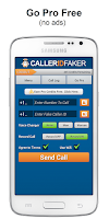Screenshot of Caller ID Faker & Recorder App