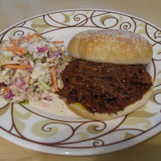 Sweet & Smoky BBQ Beef for Sandwiches