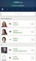 Screenshot of LPGA Now