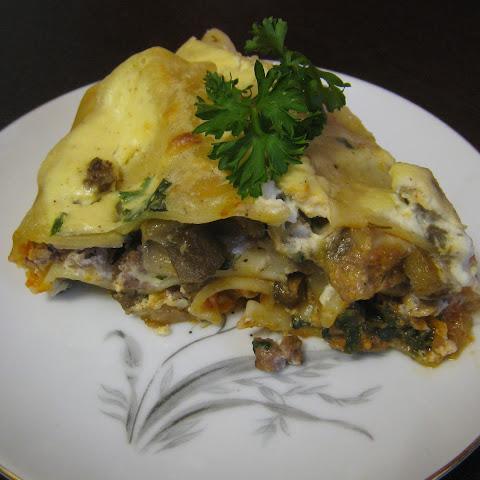 Spinach Eggplant Lasagna Ricotta Recipes | Yummly