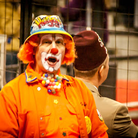 The Clown Proffesor by Pat Lasley - News & Events Entertainment ( clown, colors, event, funny, circus, colorful, mood factory, vibrant, happiness, January, moods, emotions, inspiration )