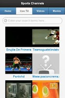 Screenshot of IVOO.TV Watch Live TV FREE