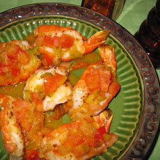 Shrimp With Gazpacho Vinaigrette