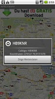 Screenshot of APRS Viewer