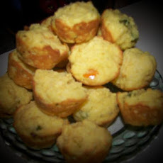 Mini Pepper Corn Muffins