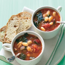 Minestrone with Collard Greens and White Beans