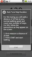 Screenshot of Zeeshanz Step Counter