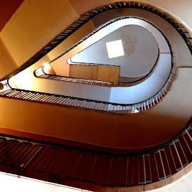 Staircase inside Jodhpur Palace by Arup Maitra - Buildings & Architecture Other Interior