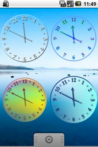 Air Clock Collection