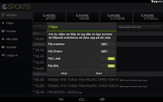 Screenshot of CSports