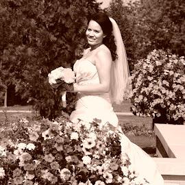 Beautiful bride by Andrea Bundy - Wedding Bride ( love, forever, beautiful bride,  )