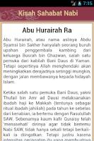 Screenshot of 200+ Kisah Sahabat Nabi