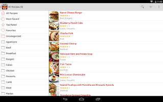 Screenshot of Paprika Recipe Manager