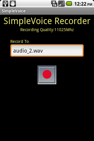 SimpleVoice Audio Recorder