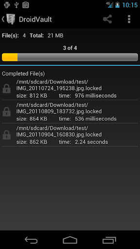 【免費生產應用App】DroidVault Lite-APP點子