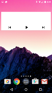 Jack's Music Widget Screenshot