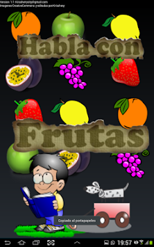 Talk And Learn With Fruits APK