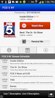 Screenshot of Fox 5 NY