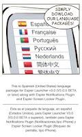 Screenshot of Spanish-ES for Espier Apps