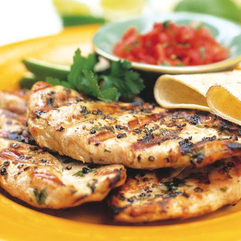 Herbed Grilled Chicken Breasts