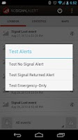 Screenshot of No Signal Alert Pro