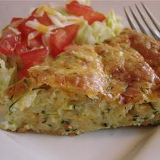 pie recipe skillet zucchini biscuit pie bisquick zucchini pie recipe ...