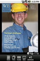 Screenshot of Western Energy eMagazine