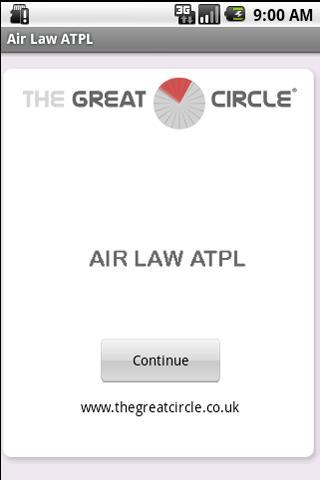 Air Law ATPL