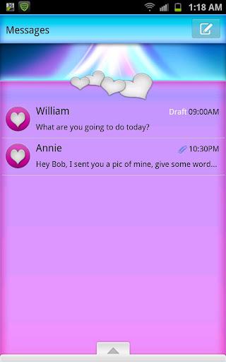 GO SMS - Sheer Heart Beauty