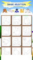 Screenshot of Draw with Animal Friends