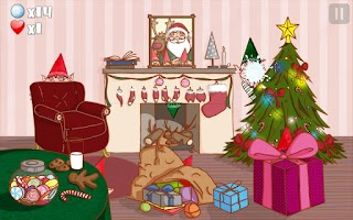 Screenshot of Play with Santa Claus