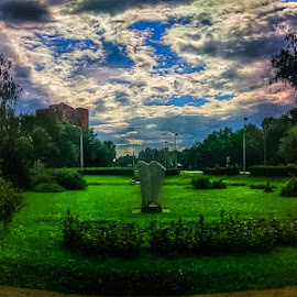 JFK Square by Branko Meic-Sidic - City,  Street & Park  City Parks ( hdr, park, jfk, zagreb, square, city )
